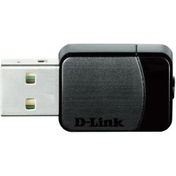 D-Link DWA-171 Wireless AC600 Dual-band USB Micro Adapter