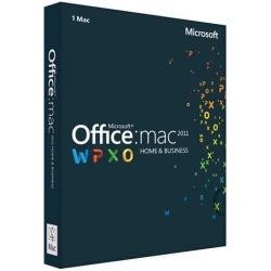Microsoft Office Mac Home and Business 2011 DVD for 1 Mac Computer Components