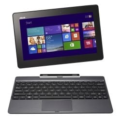 Asus Transformer Book T100CHI 10.1 inch Full HD Notebook Laptop  Z3775 2GB RAM 64GB Win8.1 Home 32bit 1yr Wty