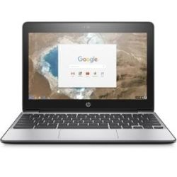 HP ChromeBook 11 G5 11 inch HD LED Notebook Laptop - Celeron N3060, 4GB RAM, 32GB SSD, WL-AC 1yr Wty Computer Components