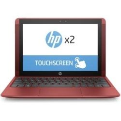 HP x2 Detachable 10-P039TU 10.1 inch HD-Touch 2-in-1 Laptop - ATOM-X5-Z8350, 2GB RAM, 32GB SSD, Win10, 1yr Wty - Red Computer Components