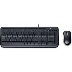 Microsoft Wired Desktop 600 Keyboard & Mouse Combo Pack Computer Components