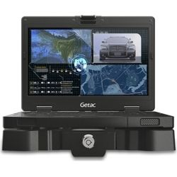 Getac S410 G2 Basic i5-8250U 14+FHD Webcam Win10 x64+8GB 256GB SSD Sunlight Readable (FHD IPS+TS) US KBD+ ANZ Power cord Membrane KBD Wi-Fi+BT