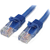 StarTech Cat5 Network Cables - StarTech 3ft Blue Molded Cat5e UTP | ITSpot Computer Components