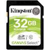 SD / SDHC / MicroSD Cards - Kingston 32GB SDHC CANVAS SELECT | ITSpot Computer Components