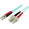 StarTech Optical / Toslink Network Cables - StarTech 2m 10Gb Aqua MM Fiber | ITSpot Computer Components