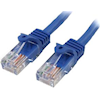 StarTech Cat5 Network Cables - StarTech 0.5m Blue Snagless Cat5e | ITSpot Computer Components