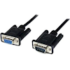 RS232 Serial Cables - StarTech 2m Black DB9 RS232 Null | ITSpot Computer Components