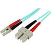 StarTech Other Network Cables - StarTech 1m 10GB Aqua Fiber Patch | ITSpot Computer Components