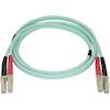 StarTech Other Network Cables - StarTech 1m Aqua MM 50/125 OM4 | ITSpot Computer Components