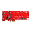 StarTech Server Options - StarTech 2x M.2 SSD Controller Card | ITSpot Computer Components