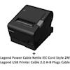 Epson POS Receipt Printers - Epson TM-T88VI USB BUNDLE with | ITSpot Computer Components