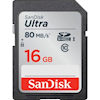 SD / SDHC Cards - SanDisk SD Ultra 16GB Class 10 | ITSpot Computer Components