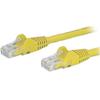 StarTech Cat6 Network Cables - StarTech 5m Yellow Snagless Cat6   ITSpot Computer Components