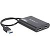 Generic Video Adapters - Adapter USB to Dual DisplayPort 4K | ITSpot Computer Components