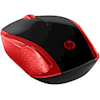 HP Wireless Desktop Mice - HP Wireless Mouse 200 Emprs Red | ITSpot Computer Components