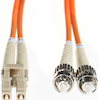 4Cabling Optical / Toslink Network Cables - 4Cabling 1m LC-ST OM1 Multimode | ITSpot Computer Components