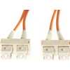 4Cabling Optical / Toslink Network Cables - 4Cabling 0.5m SC-SC OM1 Multimode | ITSpot Computer Components