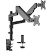 4Cabling Brackets & Mounting - 4Cabling Dual Monitor Arm Gas | ITSpot Computer Components