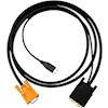 4Cabling 100Mb Network Switches - 4Cabling 1.8M KVM VGA-DVI Convert | ITSpot Computer Components