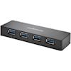 Kensington USB Hubs - Kensington UH4000C USB 3.0 4-Port | ITSpot Computer Components