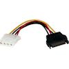 StarTech SATA Cables - StarTech 6 inch SATA to LP4 Power | ITSpot Computer Components