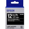 Epson Taples - Epson Tape VIVID 12mm White on | ITSpot Computer Components