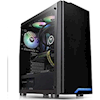 Thermaltake Computer / PC Cases - Thermaltake H100 Tempered Glass   ITSpot Computer Components