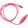 Generic USB 2.0 Cables - Visible Flowing Micro USB Charging | ITSpot Computer Components