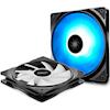 Deepcool Case Fans - Deepcool 140mm RF140 2-In-1 RGB PWM | ITSpot Computer Components
