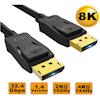 8Ware DisplayPort Cables - 8Ware Ultra 8K DisplayPort DP1.4 3m | ITSpot Computer Components