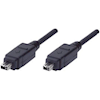 Generic Other Specialised Cables - Cabac Firewire Cable 6P-6P 2M Cabac | ITSpot Computer Components