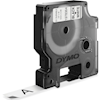Other Branded Tapes - Dymo Black on White 12mm D1 Tape | ITSpot Computer Components