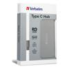 Verbatim USB Hubs - Verbatim Type C Hub with Type C PD   ITSpot Computer Components