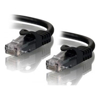 ALOGIC Cat6 Network Cables - ALOGIC 0.3m Black CAT6 network | ITSpot Computer Components