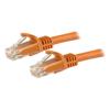 StarTech Cat6 Network Cables - StarTech 1.5 m CAT6 Cable Orange | ITSpot Computer Components