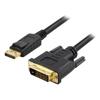 BluPeak Video Adapter Cables - BluPeak 1m DisplayPort Male to DVI   ITSpot Computer Components
