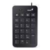 Genius Wired Desktop Keyboards - Genius Numpad i120 USB numeric | ITSpot Computer Components