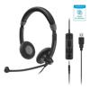 Sennheiser Headsets - Sennheiser Stereo Corded Headset | ITSpot Computer Components