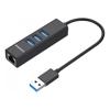 Simplecom USB Hubs - Simplecom CHN420 Black Aluminium 3   ITSpot Computer Components