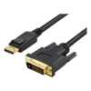 BluPeak Video Adapter Cables - BluPeak 3m DisplayPort Male to DVI | ITSpot Computer Components