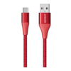 Anker Other Laptop Accessories - Anker POWERLINE +II RED A-C 3 FT | ITSpot Computer Components