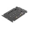 Simplecom 2.5 Portable External Hard Drive Enclosures - Simplecom SA207 mSATA + M.2 (NGFF) | ITSpot Computer Components