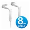Other Network Cables - Ubiquiti UniFi Patch Cable 8m White | ITSpot Computer Components