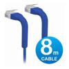Other Network Cables - Ubiquiti UniFi Patch Cable 8m Blue | ITSpot Computer Components