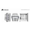 Corsair PC Case Mods / Accessories - Corsair iCUE 5000X RGB Tempered | ITSpot Computer Components