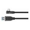 Generic USB Type-C / 3.1 Cables - Goobay USB-C to USB A 3.0 cable 90?   ITSpot Computer Components